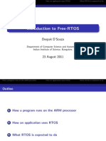 RTOS Working