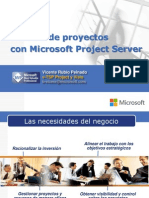 Gestión de Proyectos Con Microsoft Project Server