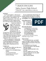 7th grade disclosure statement-2014 final