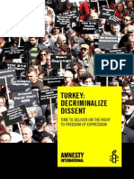 Amnesty International - Decriminalize Dissent