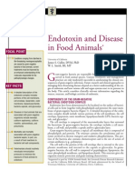 Endotoxin and Disease in Food Animals