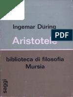 Ingemar During Aristotele 1966