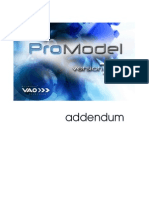 ProModel 7.0 Addendum