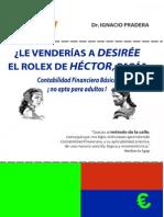 LE VENDERIAS a DESIREE EL ROLEX de HECTOR PAPA Contabilidad Financiera Basica No Apta Para Adultos