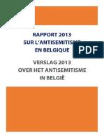 Antisemitisme.be Rapport Verslag 2013