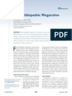 Feline Idiopathic Megacolon