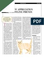 FELINE-A New Appreciation for Feline Friends