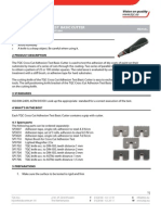 Cross Cut Adhesion Test Basic Cutter m44