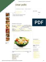 Ensalada Cesar de Pollo _ Como Cocinar Pollo