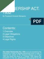 Partnership Act Rajsirasignment