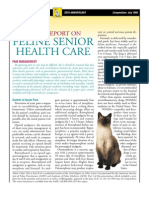 FELINE-Feline Senior Health Care