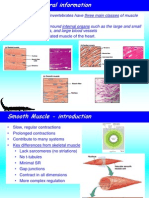 Smooth and Cardiac Muscles