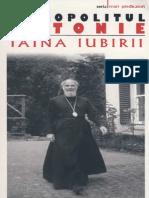 Mitropolitul Antonie de Suroj, Taina iubirii
