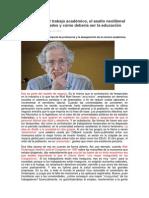 20140313-Asalto Neoliberal de Las Universidades-N Chomsky