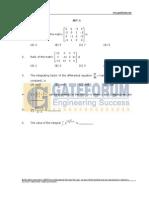 Engineering Mathematics- Sample Questions- Set-1