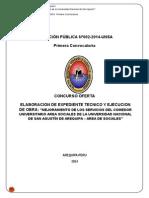 Licitación Pública Nº002 2014 Unsa