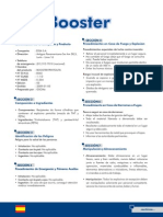 Booster - Msds