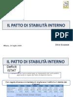 PATTO_e indebitamento 2009