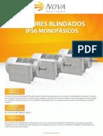 Nova - Motores Monofásicos Blindados IP56