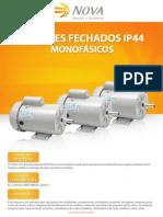 Nova - Motores Monofásicos Fechados IP44