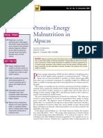 LAMA-Protein-Energy Malnutrition in Alpacas