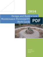 Design and Build a Low Maintenance Perennial Fruit and Herb Front Garden