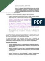 Acuerdo Secretarial de Tutorias