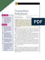 Perianesthetic Arrhythmias