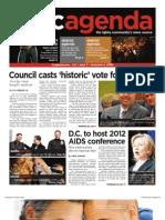 dcagenda.com vol. 1, issue 3 - december 4, 2009
