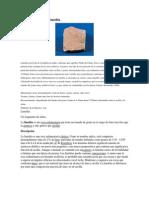 Roca Sedimentaria Limolita