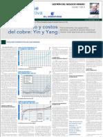 Clase Ejecutiva 2013-07 - Columna El Mercurio - Precio y Costos, G.lagos