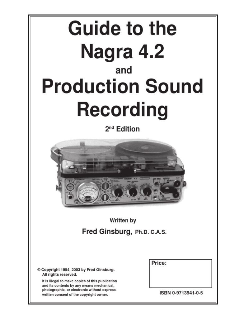 Nagra Guide 2003 | Electrical Connector | Microphone