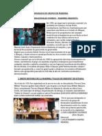 Biografia de Grupos de Marimba Resumen