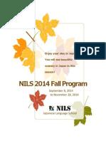 Fall Program2014