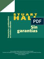 Sin Garantias Stuart Hall [Web Col]