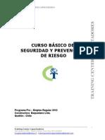 Curso Básico de Seguridad y Prevención de Riesgo - Obras Urbanas