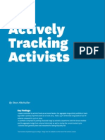 Actively Tracking Activists