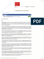Shinning Bangladesh Under Khaleda Zia's Leadership _ Asian Tribune