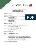 Programa Seminario Uso Racional de Plaguicidas