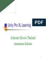 Unity Pro Xl Learning