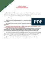 Acceleratia Gravitationala - Www.e-referat.net