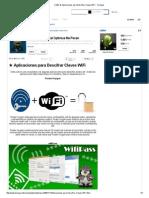 (+99) ★ Aplicaciones para Descifrar Claves WiFi - Taringa!