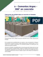 Fabricacion de Prefabricados en Concreto en Colombia