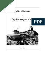 Villa Lobos Guitar Etudes3