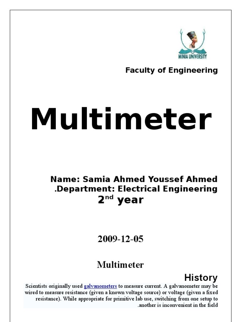 Multimeter 2007 Physical Quantities Electricity Dt830d Digital Circuit Diagram