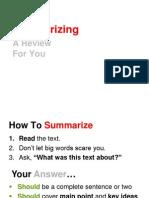 summarizing-review-2