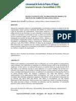Prática Ecoeficiente e Sustentável No Processo de Produção