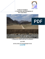 Sand Filters Technical Guidelines for the Construction and Management 2009