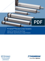 Thomson PC Series Precision Linear Actuators Catalog