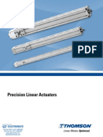 Thomson Precision Linear Actuators Specsheet